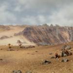 Picture of alien desert planet